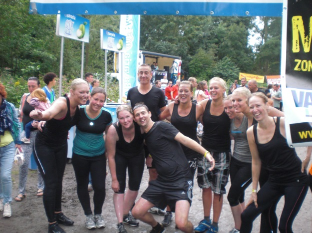 mud run vlaardingen finish