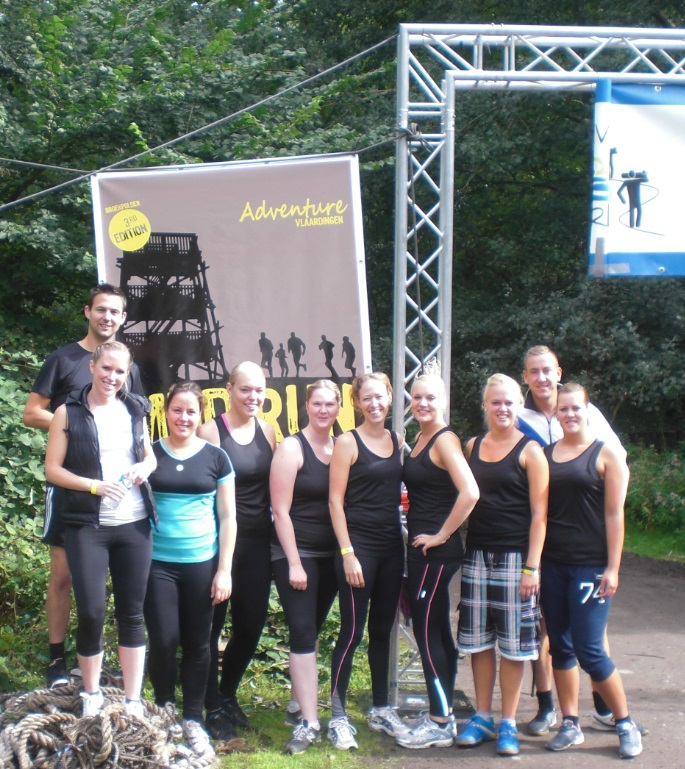 mud run vlaardingen team personal plus