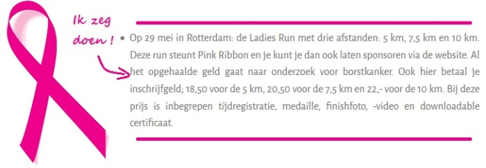 personal plus personal training -ladies run rotterdam