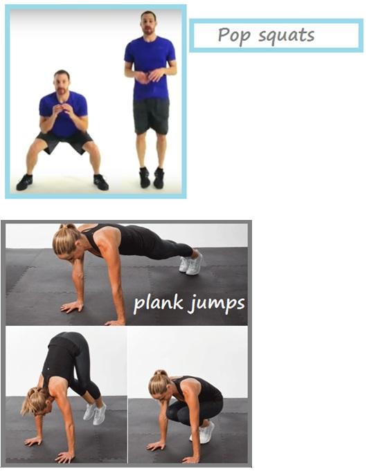 100 kcal workout 1
