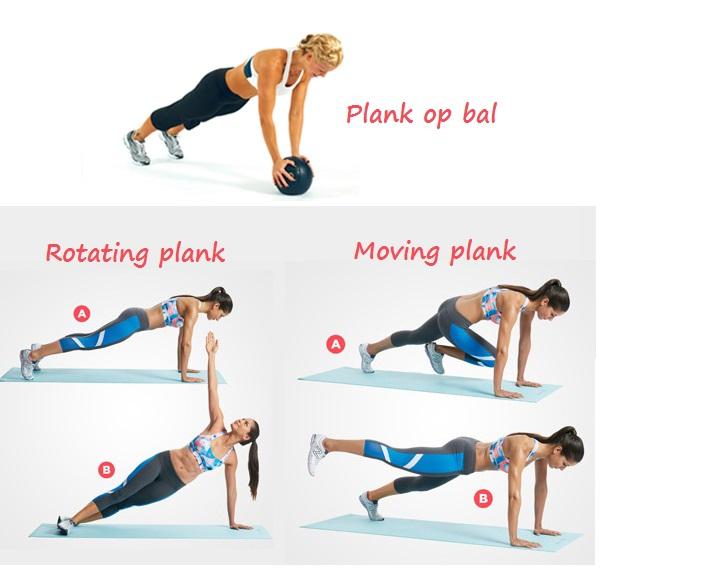 Bootcamp Naaldwijk personal plus training Plank2