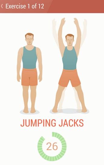 fitness app seven